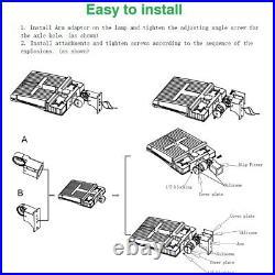 1000LED LED Parking Lot Light 200W, IP66 LED Shoebox Light, Street Area Lighting