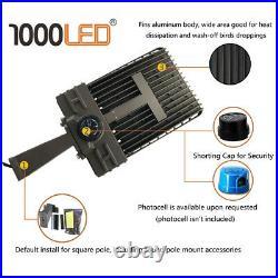 1000LED LED Shoebox Light 200W AC110-277V Arm Mount for Square & Round Pole UL