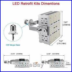 1000W MH Parking Lot Shoebox Street Lights 240W LED Retrofit Kit 5700K UL&DLC
