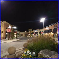 1000 watt Equivalent LED Parking Lot Light Fixture Flood Light 480V Direct Mount