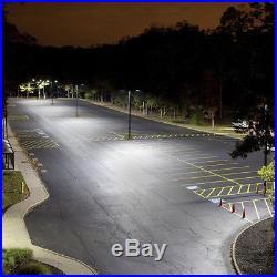 1000 watt Equivalent Parking Lot LED Light Fixtures 300W Floodlight 480V Slipfit