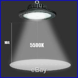 100W 150W 200W UFO LED High Bay Light Industrial Warehouse Factory ETL DLC 5000K