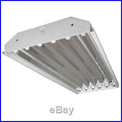 108W 6 Lamp T8 LED High Bay 9600 Lumens Warehouse Commercial Lighting DLC UL