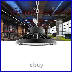10Pack 200W UFO Led High Bay Light Commercial Warehouse Factory Lighting 110V