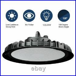 10Pack 200W UFO Led High Bay Light Industrial Factory Warehouse Shop Light 6000K