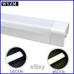 10Pack 8FT LED Vapor Tight Light, 75W 8500LM Vapor Proof Parking Lot Garage Light
