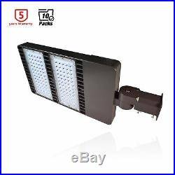 10Packs 300Watt LED Parking Lot Light Slip Fitter Shoebox Light Super Bright ETL
