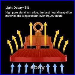 10Pcs 200W UFO LED High Bay Light Work Warehouse Industrial Lighting 5000K DLC