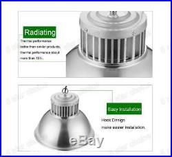 10X 100W LED High Bay Bright Light Lamp Warehouse Shed Factory Industry Fixture