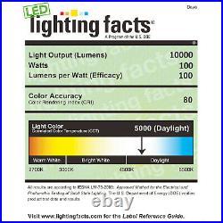 10,000 Lumen Bright White LED Double Headed Powder Coated Tripod Work Light