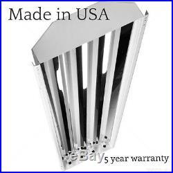 (10) 4-lamp T5 HO Fluorescent High Bay Light Fixtures Shops Warehouse withbulbs