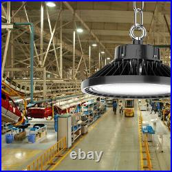 10 Pack 150W UFO LED High Bay Light Commercial Factory Shop Warehouse Lamp 5000K