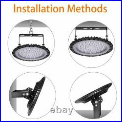 10 Pack UFO LED High Bay Light 500W 300W 200W 100W 50Watt Warehouse Shop Light