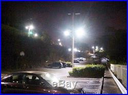 10-Solar Nighthawk LED Street Light 5500 Lms withRemote Controls & Motion Sensor