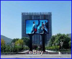 10'x20' Outdoor LED Sign Billboard Display RGB Advertising Huge 10x20 Feet