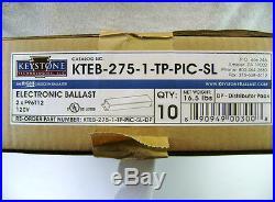 10x KTEB-275-1-TP-PIC-SL 2 Lamp T12 Ballast for 2 F96T12 F72T12 F48T12 bulbs