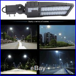 10x ShoeBox Street Light Adjustable Angle LED Parking Lot Lamp 150W Lamp LOT VI
