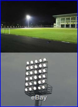 1200 Watt LED Ball Field Stadium Arena Flood Parking Lot Lights. DLC / UL / cUL