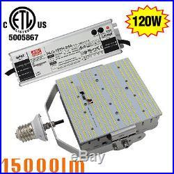 120W LED Parking Lot Gas Station Light Replace 400W MH HPS E39 LED Retrofit kit