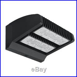 120W Led Wall Pack Light Two Independent Rotatable Flood Light Fixture 5000K