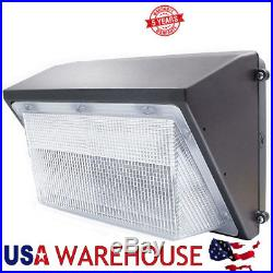 125W LED Wall Pack Light Commercial Grade Weatherproof Outdoor Security Fixture