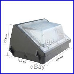 125W Modern LED Wall Pack Lamp Sconce Lighting Fixture Outdoor ETL DLC listed