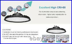 12PCS 300W UFO LED High Bay Light Shop Light Work Warehouse Industrial Lighting