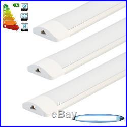 12x 4FT 1200mm LED Linkable Batten Tube Light Daylight Lamp Surface Mounted Lamp