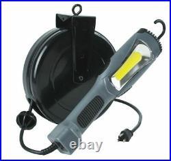 1300 LUMEN COB LED CORD RETRACTABLE REEL WORK, REPAIR, TASK SHOP Light 5030AM