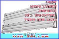 144 Watt 6-Light High Bay Warehouse Gym 4 ft Lighting Fixture 6 x LED T8 6500K