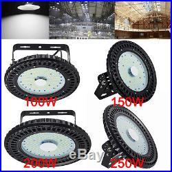 150W 100W 250W Watt LED High Bay Light Warehouse Fixture Factory Shed UFO Lamp