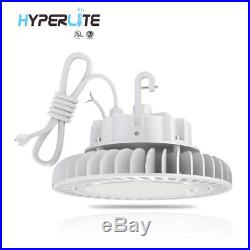 150W 5000K White LED High Bay Light UFO Fixture Dimmable Energy Efficient Lamp