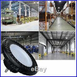 150W Dimmable UFO LED High Bay Light ETL Certified, 600W HID/HPS, Warehouse Light