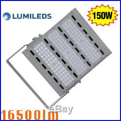 150W LED Flood Street Light Retrofit IP65 6000K Outdoor Parking lot Wall Light