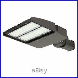 150W LED Parking Lot Light with Photocell Sensor Module Street Pole Fixture