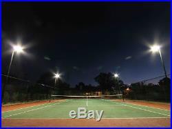 150W LED Parking Lot Light with Photocell, Slipfitter Mount Area Flood Light
