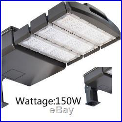 150W LED Parking Lot Pole Light Outdoor Module Lighting Street Area Road Lamp