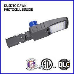 150W LED Shoebox Light LED Street Light LED Parking Pole Lot Light 5000K DLC ETL