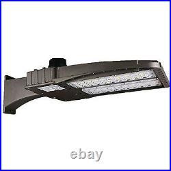 150W LED Shoebox Light Parking Lot Pole Commericial Building Warehouse Lighting