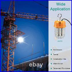 150W LED Temporary Construction Lighting Portable Work Light Job Site High Bay