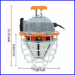 150W LED Temporary Work Light Fixture 100-277V High Bay Construction Work Light