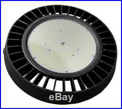 150W LED UFO High Bay Light Warehouse Dimmable IP65 High Power Bright 110-277V