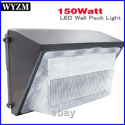 150W LED Wall Pack Commercial Industrial Light Outdoor Security Lighting Fixture