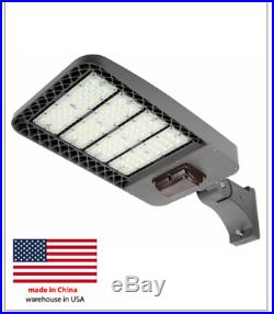 150W LED shoebox light with photocell Or motion sensor 5k replaces halide 350w