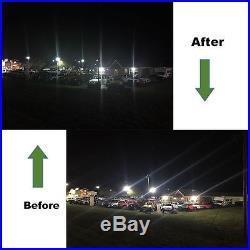 150W Parking Lot Light 19000LM Outdoor Led Shoebox Pole Lighting 100-277V 5000K