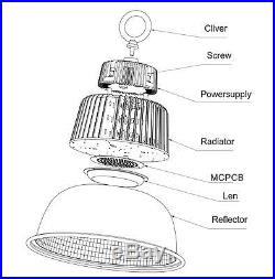 150W UL Approved LED High Bay Light White Lamp Lighting Fixture 22000 Lumens