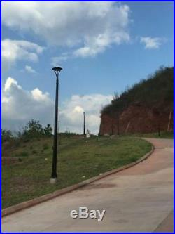 150Watt LED Pole Mount Circular Street Light 5000K IP65 Roadway Post Top Light
