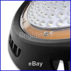 150Watt UFO Led High Bay Light 15000lm 3000K Warm White Warehouse Lamp Fixtures