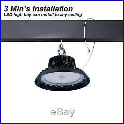 150 Watts UFO LED Light High Bay 5000K Warehouse Industrial Lighting AC 100-277V
