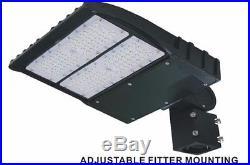150w LED Parking Lot shoebox Light Fixture 5700KUL DLC approved 5yrs warranty